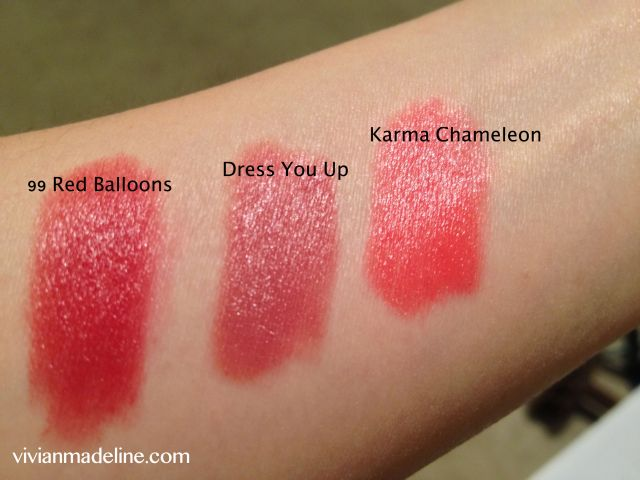 ILIA Beauty Lipstick Crayon Swatches